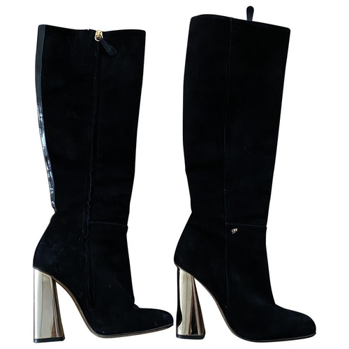 Dsquared2 Black Suede Boots