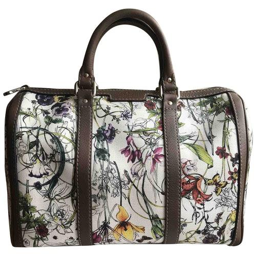 Gucci Boston Multicolour Cotton Handbag