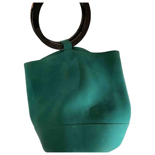 Simon Miller Green Suede Travel Bag