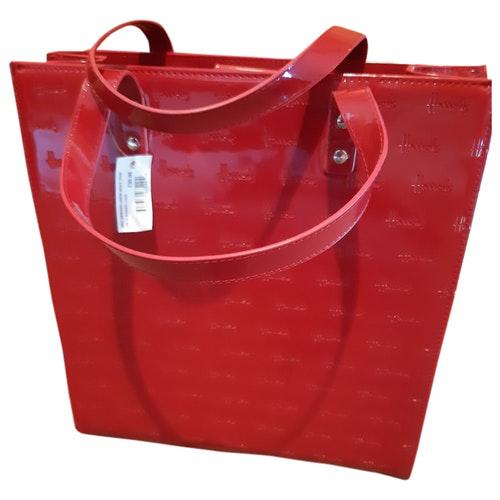 Harrods Red Cloth Handbag