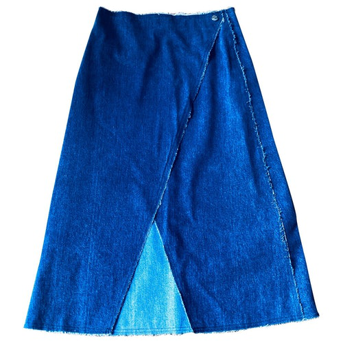 Simon Miller Blue Denim - Jeans Skirt