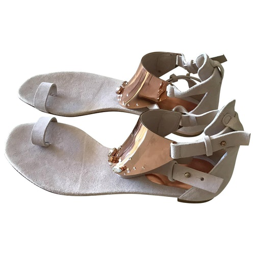 Luis Onofre Suede Sandals