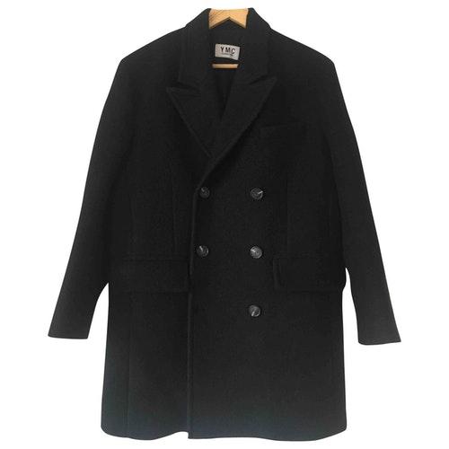 Ymc You Must Create Black Wool Coat