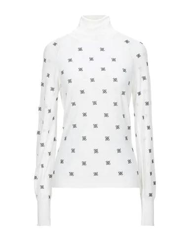 Fendi Turtleneck In White