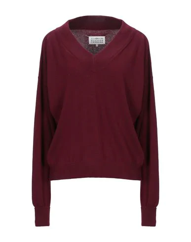 Maison Margiela Sweater In Maroon