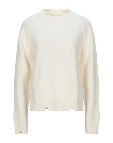Maison Margiela Sweater In Ivory