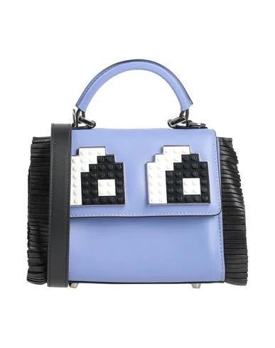 Les Petits Joueurs Handbag In Sky Blue