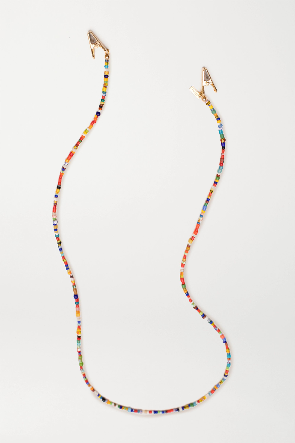Eliou Gold-plated Bead Sunglasses Chain