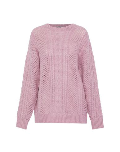 Line Sweater In Mauve