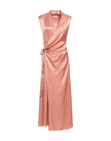 Les HÉroÏnes By Vanessa Cocchiaro Long Dress In Pink