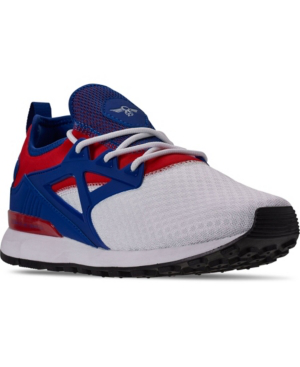 Creative Recreation Men's Metro Casual Athletic Sneakers From Finish Line In White, Navy, Red