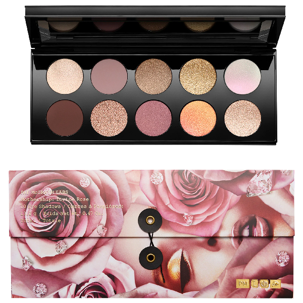Pat Mcgrath Labs Mothership Vii Eyeshadow Palette - Divine Rose Collection 10 X 0.047 Oz./ 1.32 G