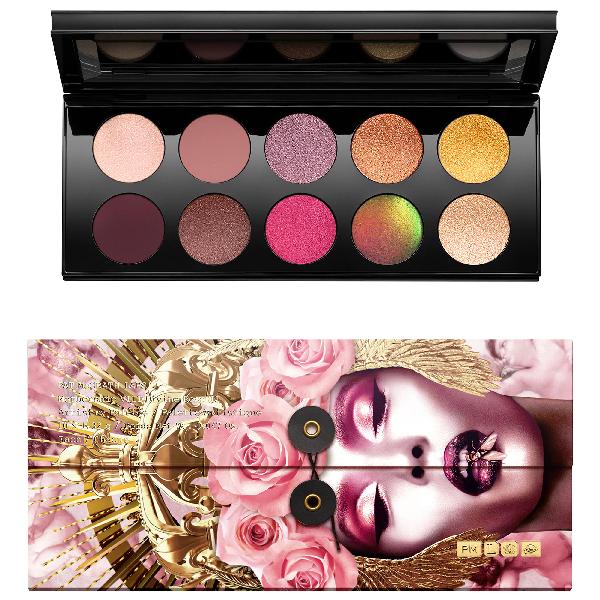 Pat Mcgrath Labs Mothership Viii Artistry Eyeshadow Palette - Divine Rose Ii Collection 10 X 0.047 oz/ 1.3 ml