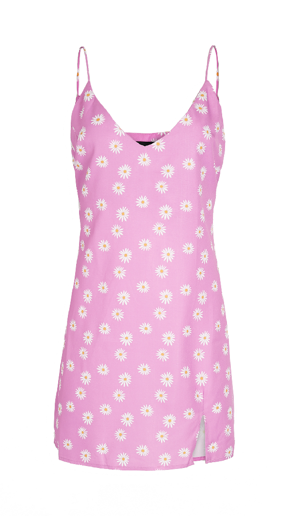 Lioness Life Is Good Mini Dress In Pink Floral