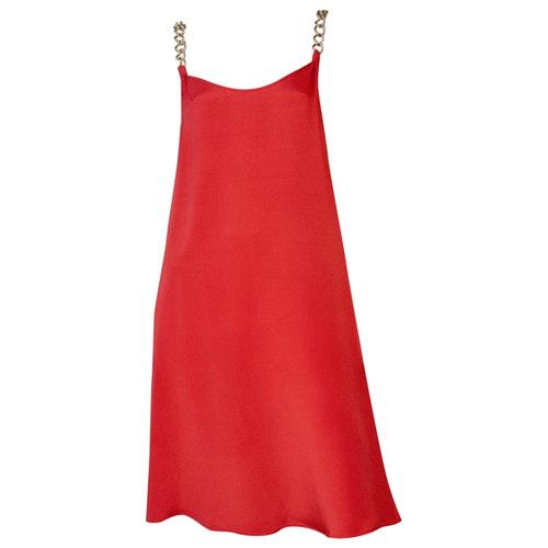 Stephan Janson Red Silk Dress