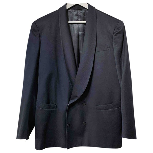 Mugler Black Wool Jacket