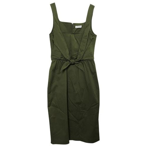 Altuzarra Khaki Cotton - Elasthane Dress