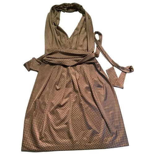 Daniele Alessandrini Gold Dress