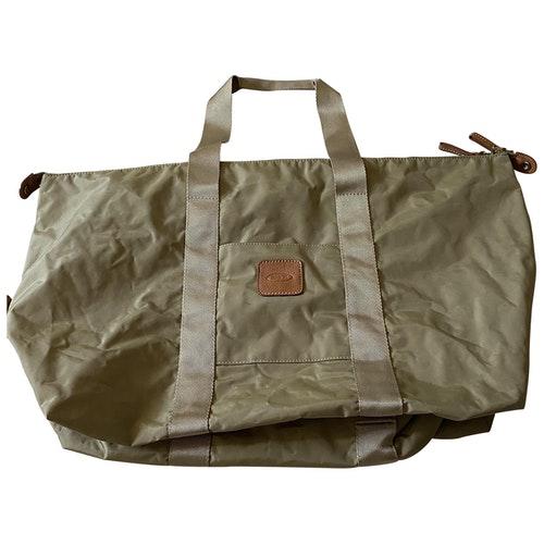 Bric's Beige Travel Bag