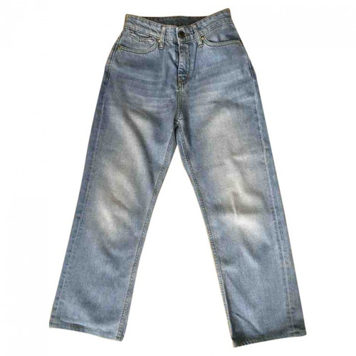 Donna Ida Blue Cotton Jeans