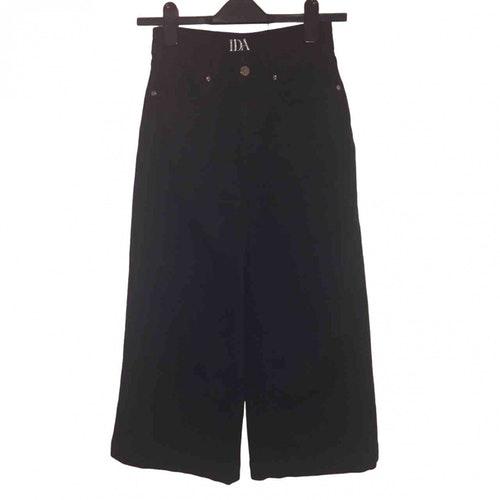 Donna Ida Black Cotton - Elasthane Jeans