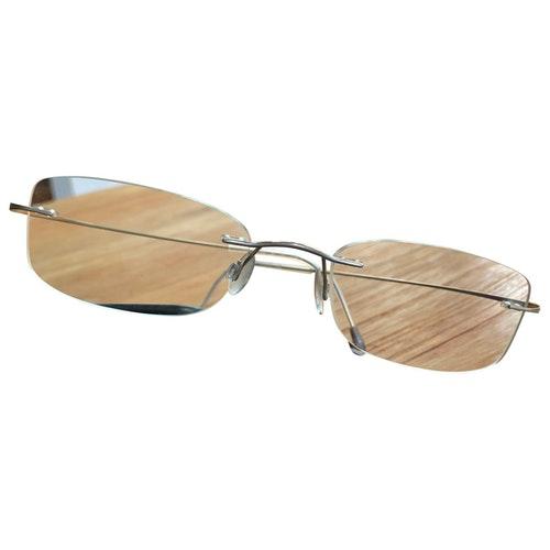 Silhouette Metal Sunglasses