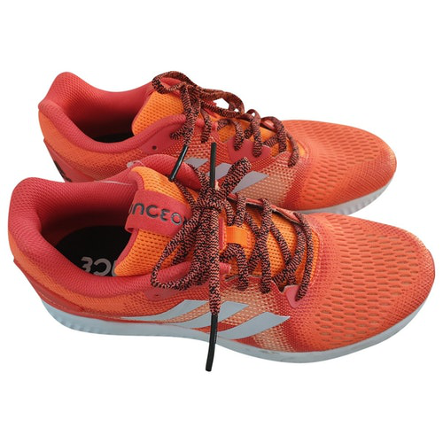 Adidas Originals Orange Cloth Trainers