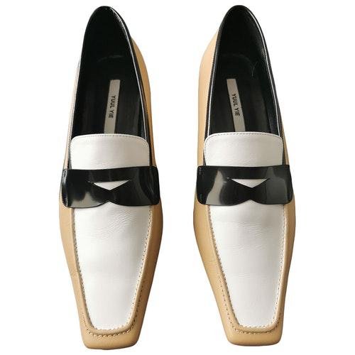 Yuul Yie Beige Leather Heels