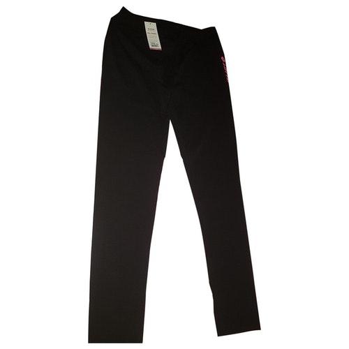 Lotto Black Cotton Trousers
