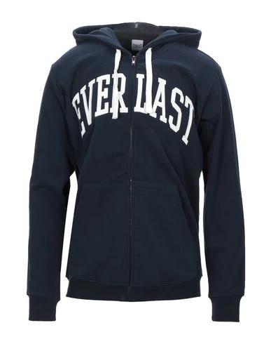 Everlast Hooded Sweatshirt In Dark Blue
