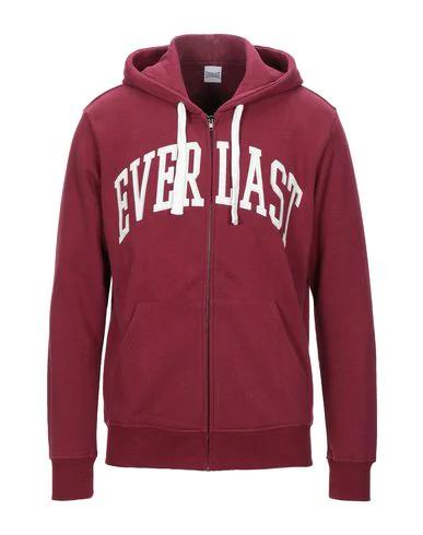 Everlast Hooded Sweatshirt In Maroon