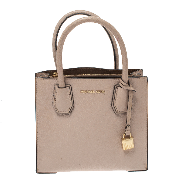 Michael Kors Blush Pink Leather Mini Mercer Tote