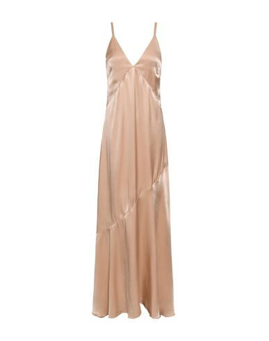 Les HÉroÏnes By Vanessa Cocchiaro Long Dress In Beige