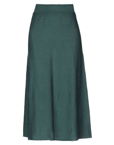 Chiara Bertani Midi Skirts In Dark Green