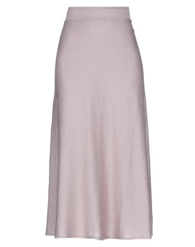Chiara Bertani Midi Skirts In Pastel Pink