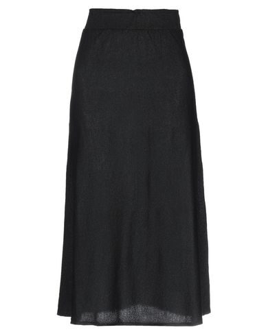 Chiara Bertani Midi Skirts In Black