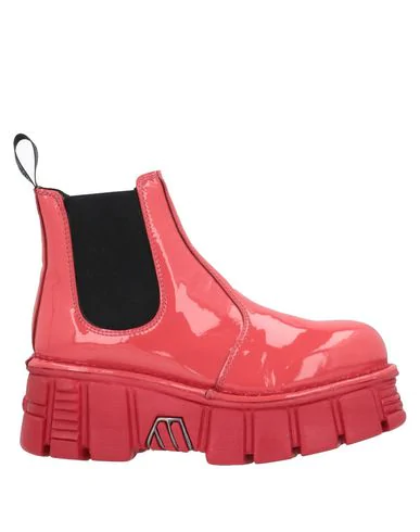 New Rock Ankle Boot In Coral