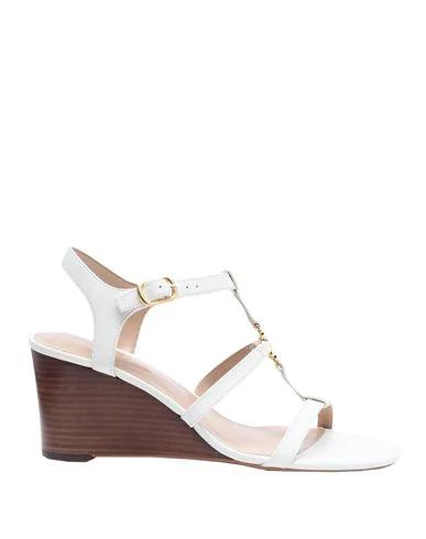 Lauren Ralph Lauren Sandals In Ivory