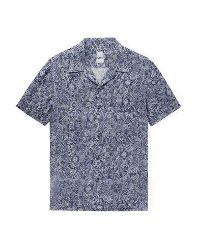 120% Linen Shirt In Dark Blue