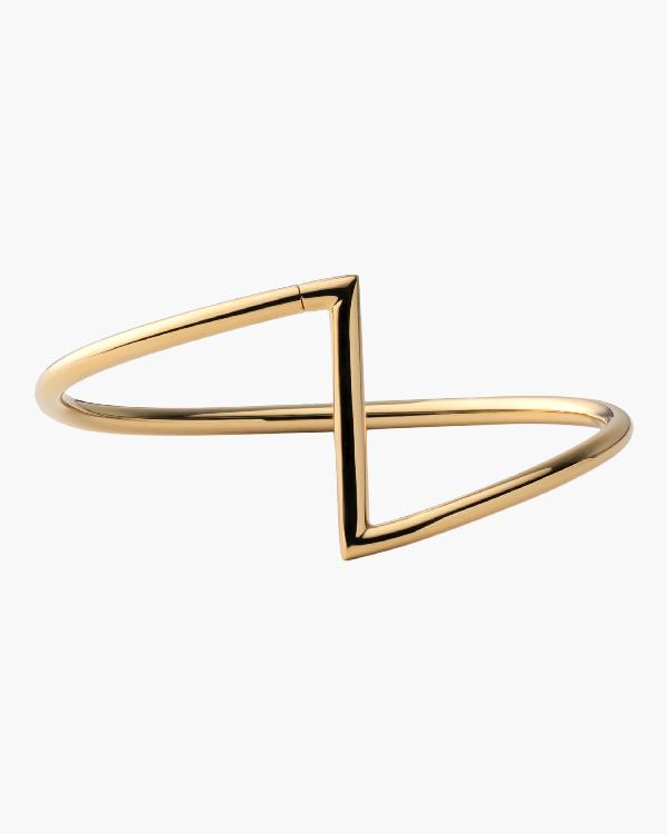Miansai Arch Cuff In Gold