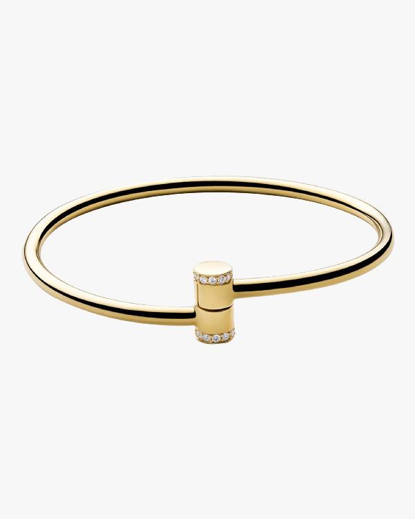 Miansai Pillar Cuff In Gold