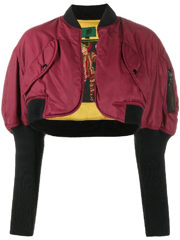 Jean Paul Gaultier 1990s Bolero Coat In Red