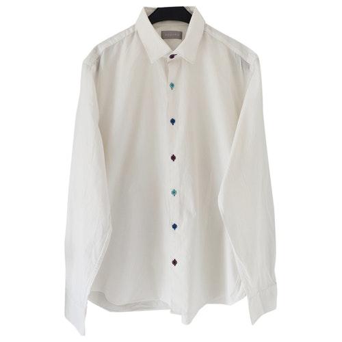 Azzaro White Cotton Shirts
