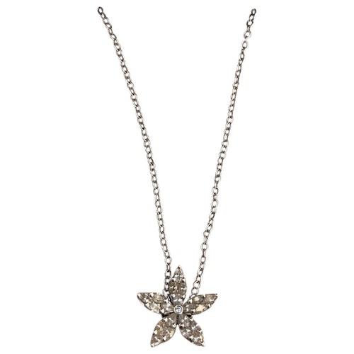 David Morris White Gold Necklace