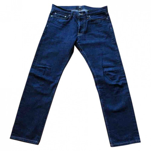 Edwin Blue Cotton Jeans