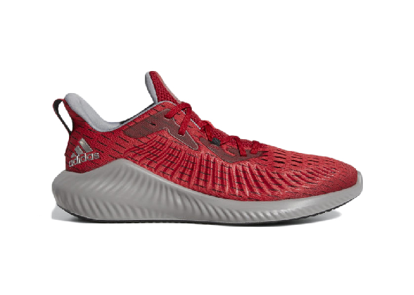 Adidas Originals Adidas Alphabounce+ Power Red (w) In Power Red/tech Silver/core Black