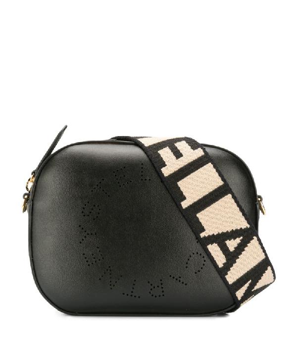 Stella Mccartney Stella Logo Belt Bag In Black