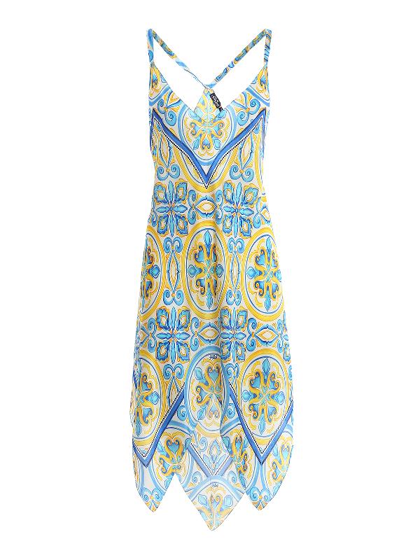 Mc2 Saint Barth Thaira Dress In Multicolour