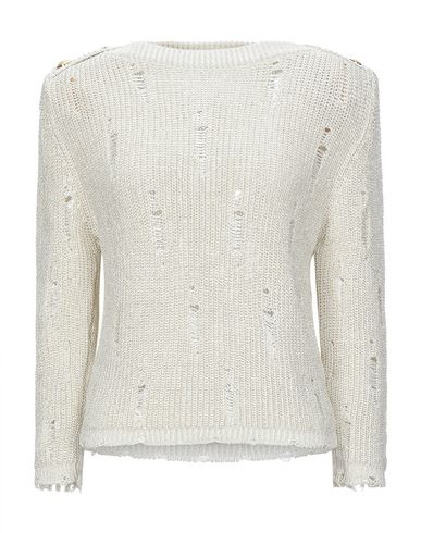 Balmain Sweater In Ivory