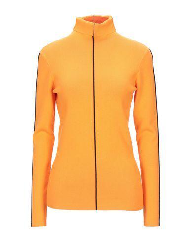 Victoria Beckham Turtleneck In Orange